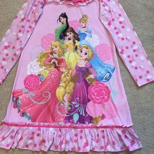 Disney Princess Nightgown /pink/9/10